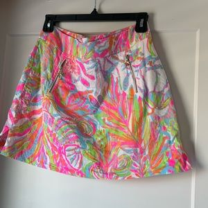 Lilly Pulitzer skort in Scuba to Cuba